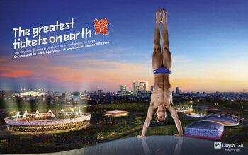 Ingressos para as Olimpíadas de Londres em 2012