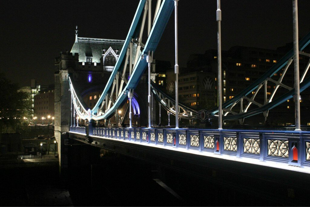 Tower Bridge - Mapa de Londres