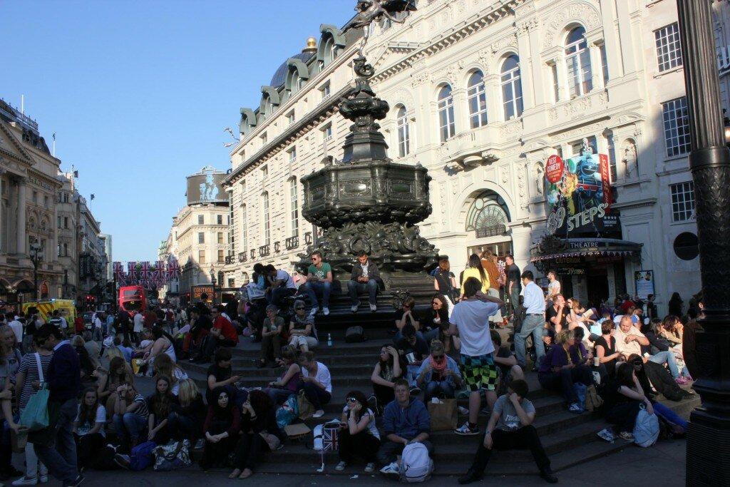 Piccadilly Circus - Mapa de Londres