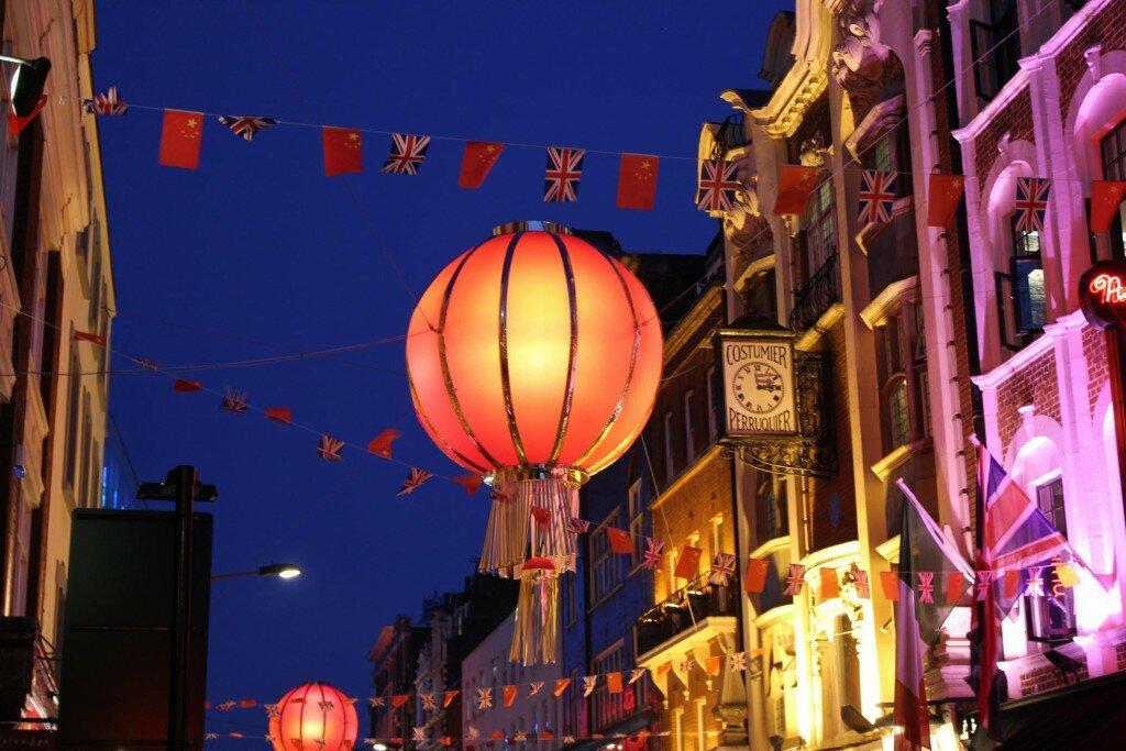 Chinatown - Mapa de Londres
