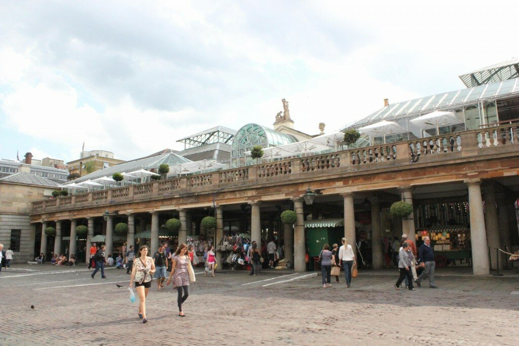 Covent Garden. Mapa de Londres