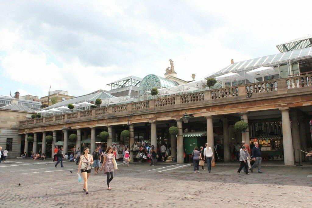 Conheça o mercado de Covent Garden