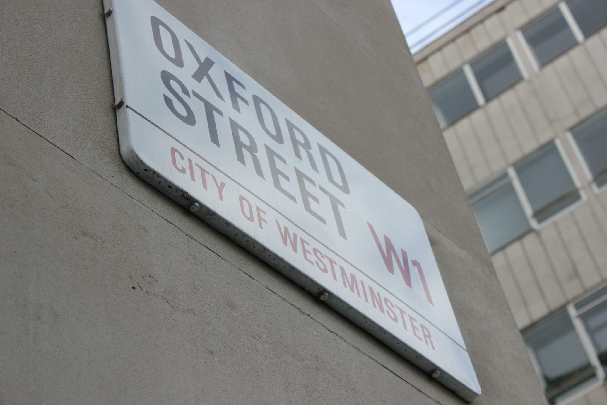 Lojas de roupa em Londres: Oxford Street