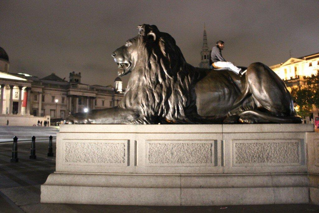 Trafalgar Square - Mapa de Londres