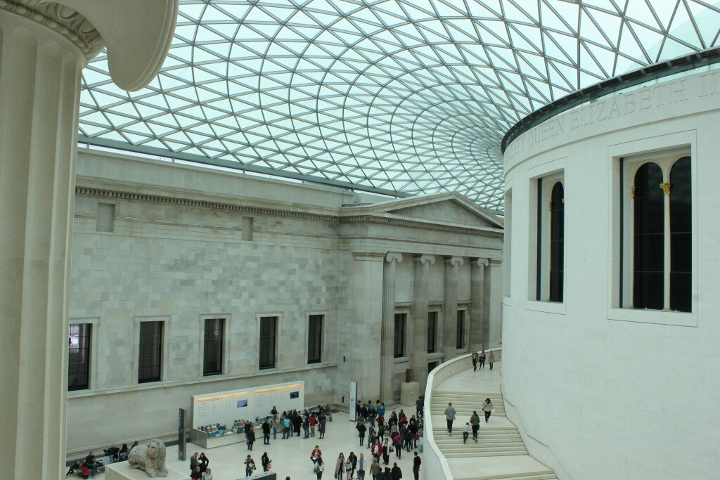 British Museum - Mapa de Londres