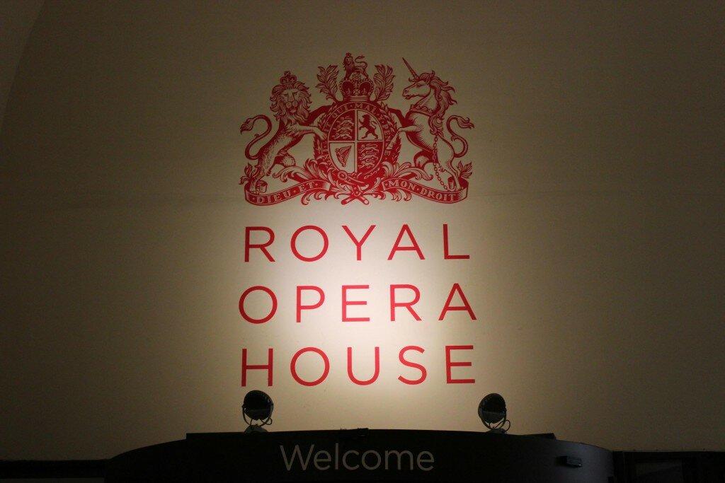 Royal Opera House em Covent Garden. Foto: Mapa de Londres