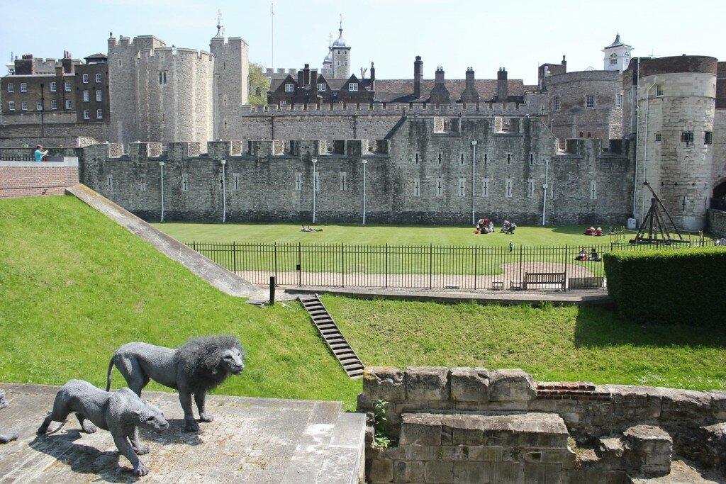 Royal Beasts surround you. Foto: Mapa de Londres