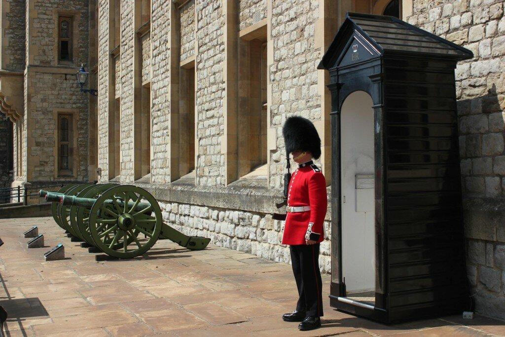 Torre ainda é bem protegida. Foto: Mapa de Londres