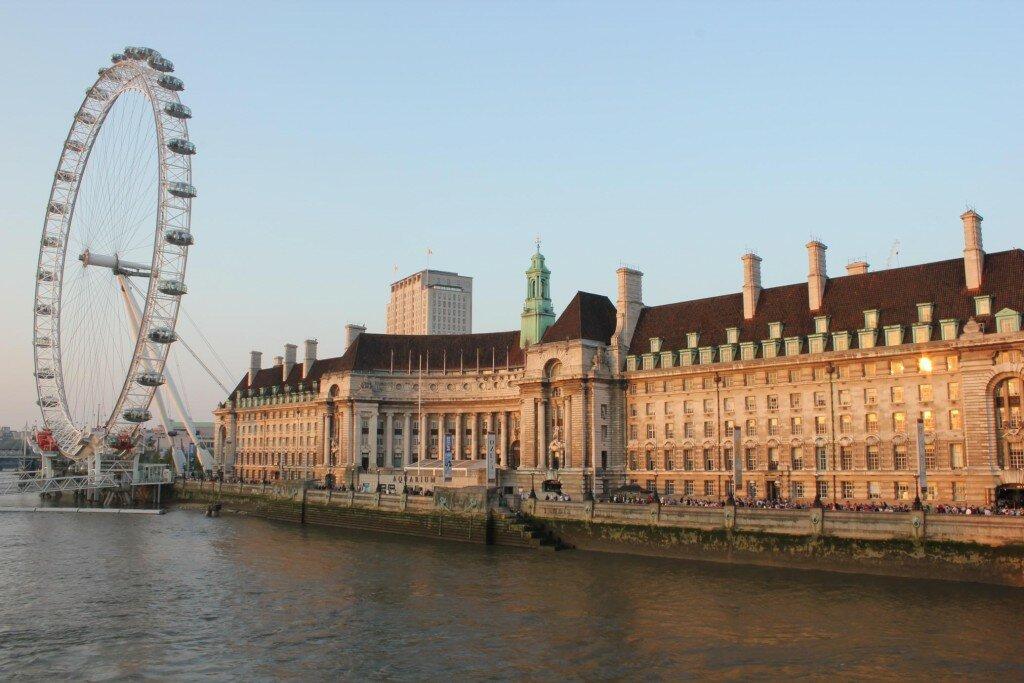London Eye - Foto: Vincent Travi, Mapa de Londres