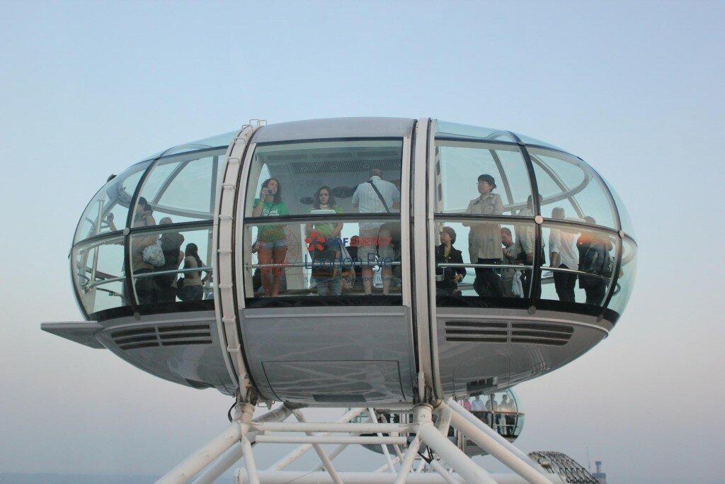 Cada cápsula comporta até 25 pessoas. Foto: Mapa de Londres