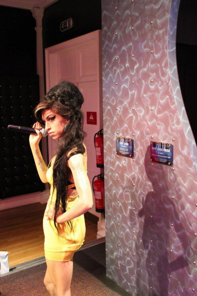 Madame Tussauds - Museu de Cera - Mapa de Londres