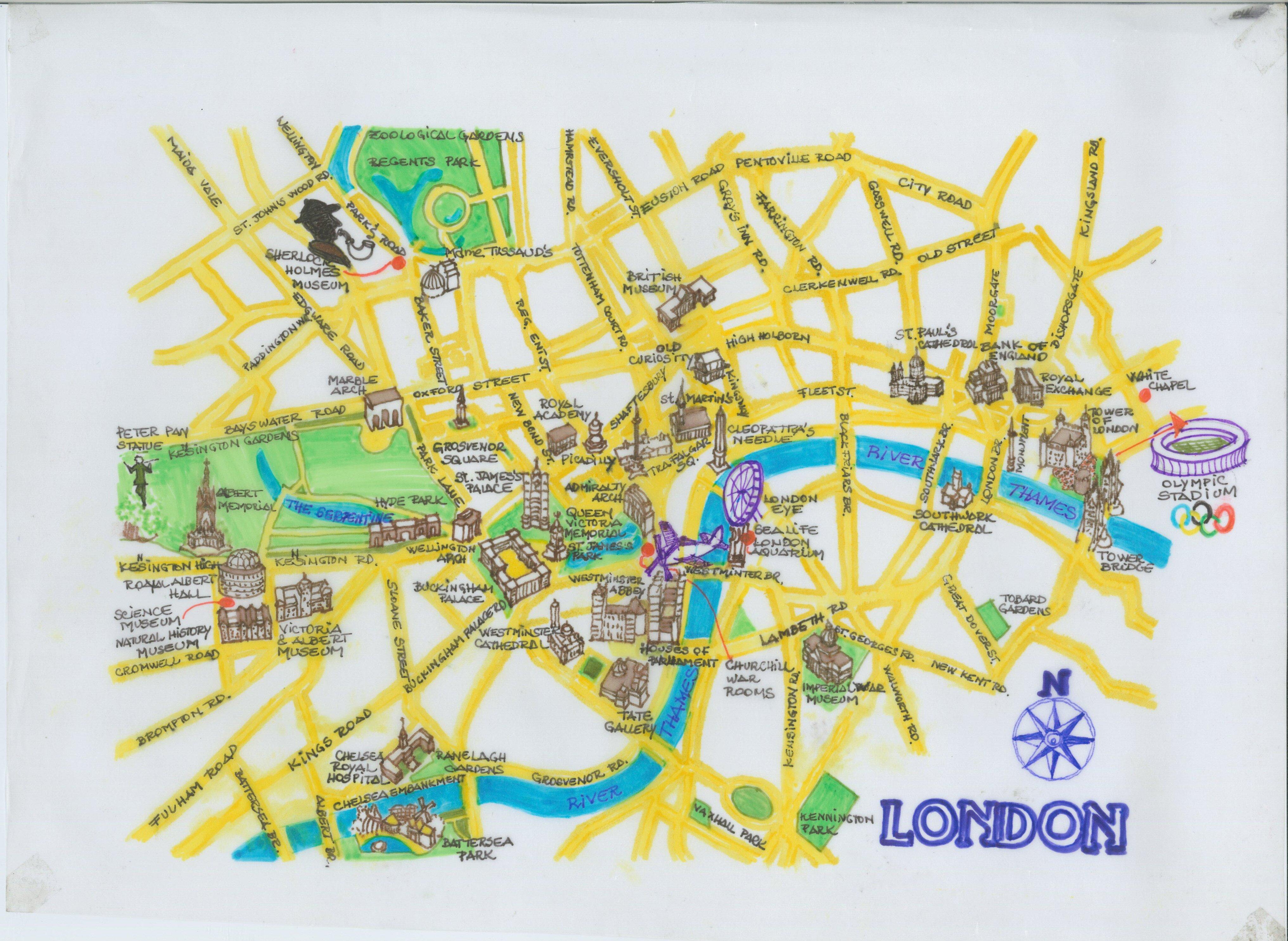 MAPA TURISTICO LONDRES PDF DOWNLOAD