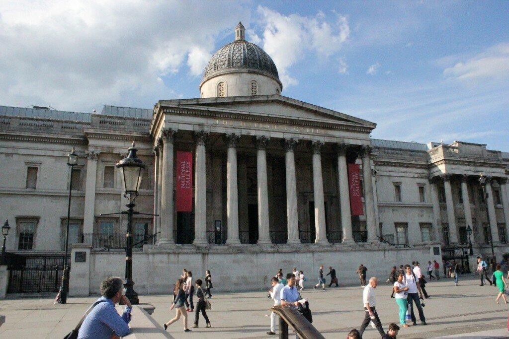 Entrada para a National Gallery é gratuita