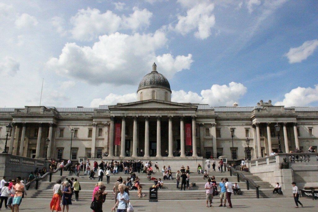 Trafalgar Square e National Gallery