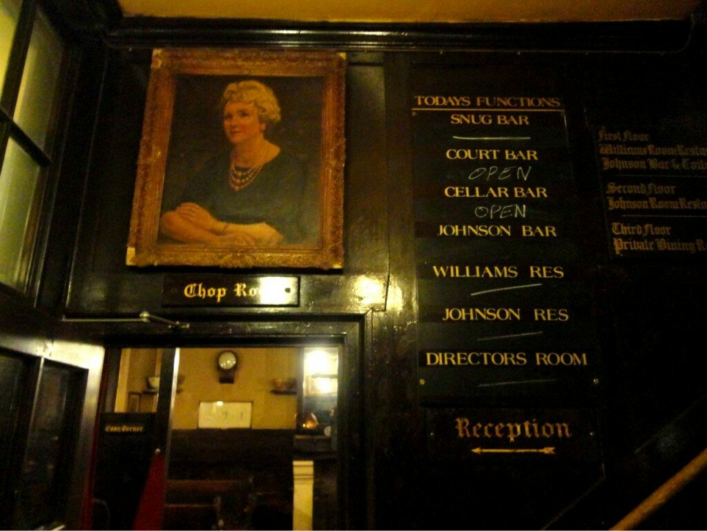 Ye Olde Cheshire Cheese Pub - Mapa de Londres