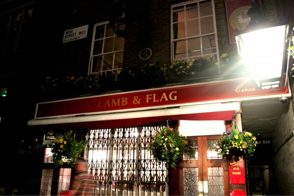 Lamb & Flag - Mapa de Londres