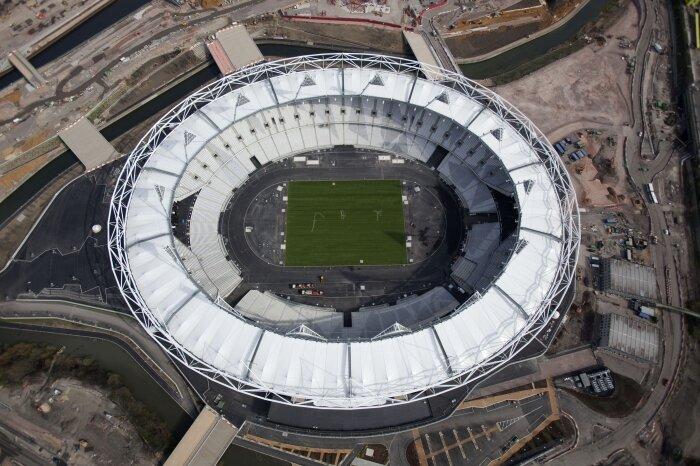 Fotos: Estádio Olímpico de Londres fica pronto 3 meses antes