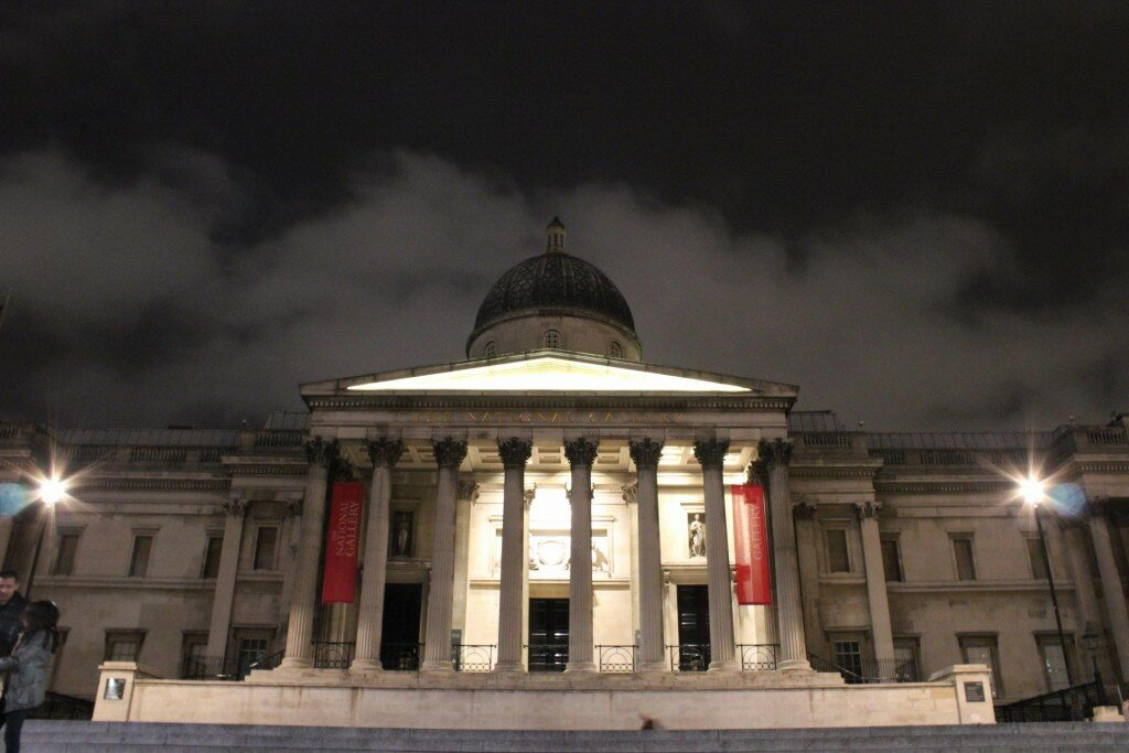 National Gallery - Trafalgar Square - Mapa de Londres