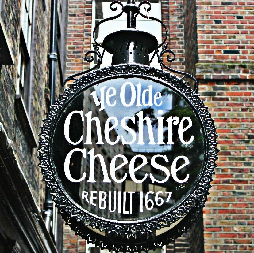 Ye Olde Cheshire Cheese Pub - Mapa de Londres