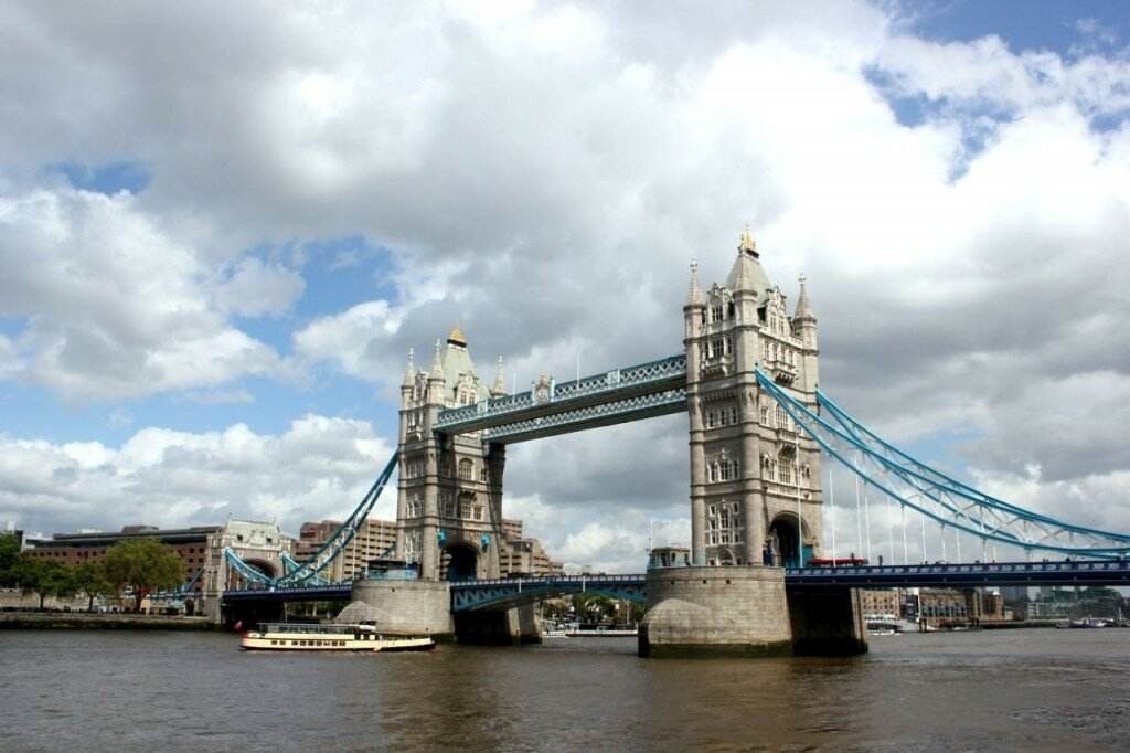 Tower Bridge - Mapa de Londres