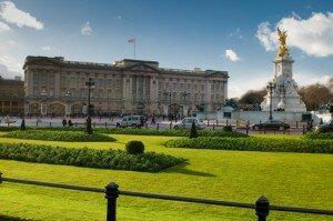 Palácio de Buckingham. Foto: Shutterstock