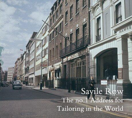 Savile Row, um museu de ternos