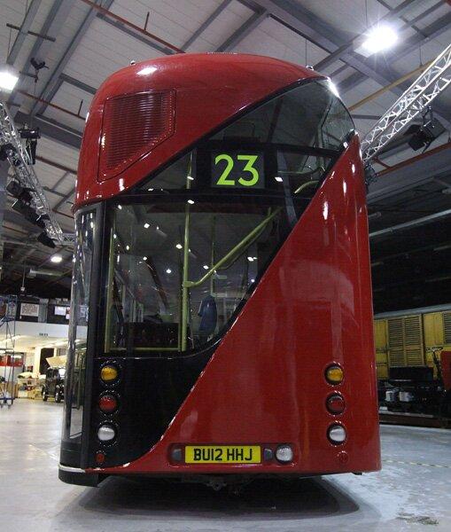 Novos ônibus de Londres
