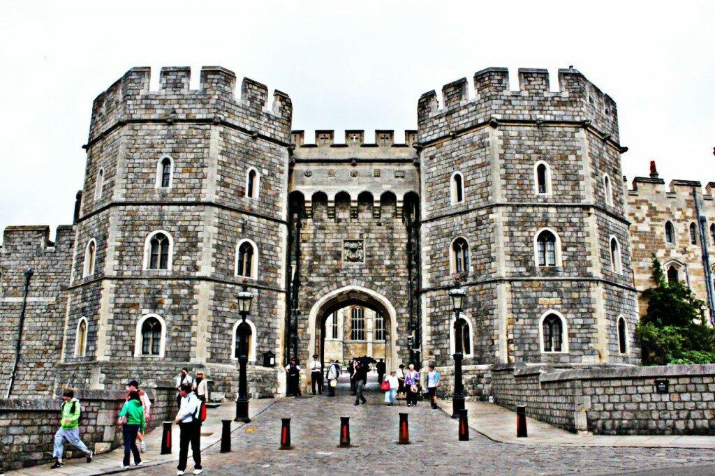 Castelo de Windsor é o maior e mais antigo palácio ocupado no mundo. Foto: Mapa de Londres