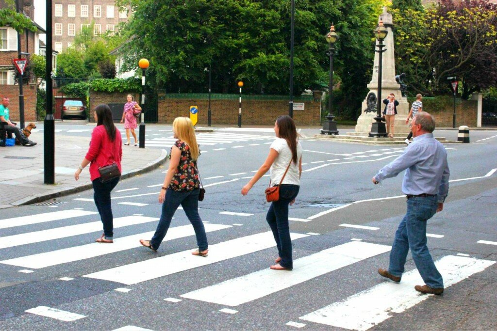 Abbey Road. Foto: Mapa de Londres