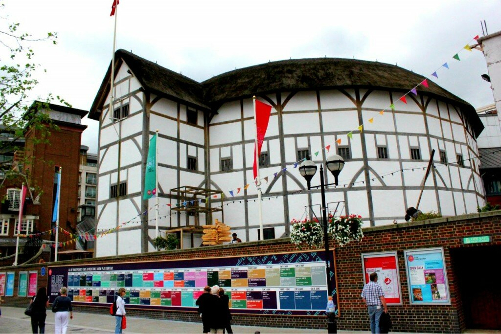 Shakespeare's Globe Theatre - Mapa de Londres