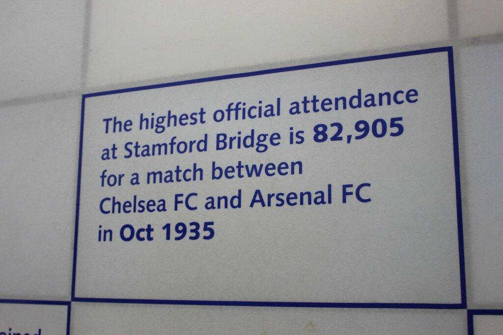 Tour pelo estádio revela curiosidades. Foto: Mapa de Londres