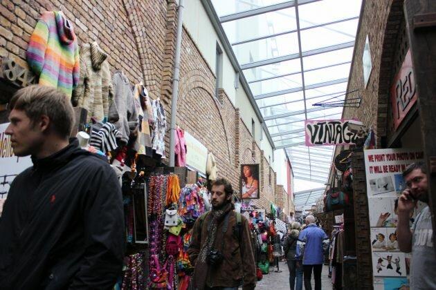 Camden Town: Aqui o estranho é você