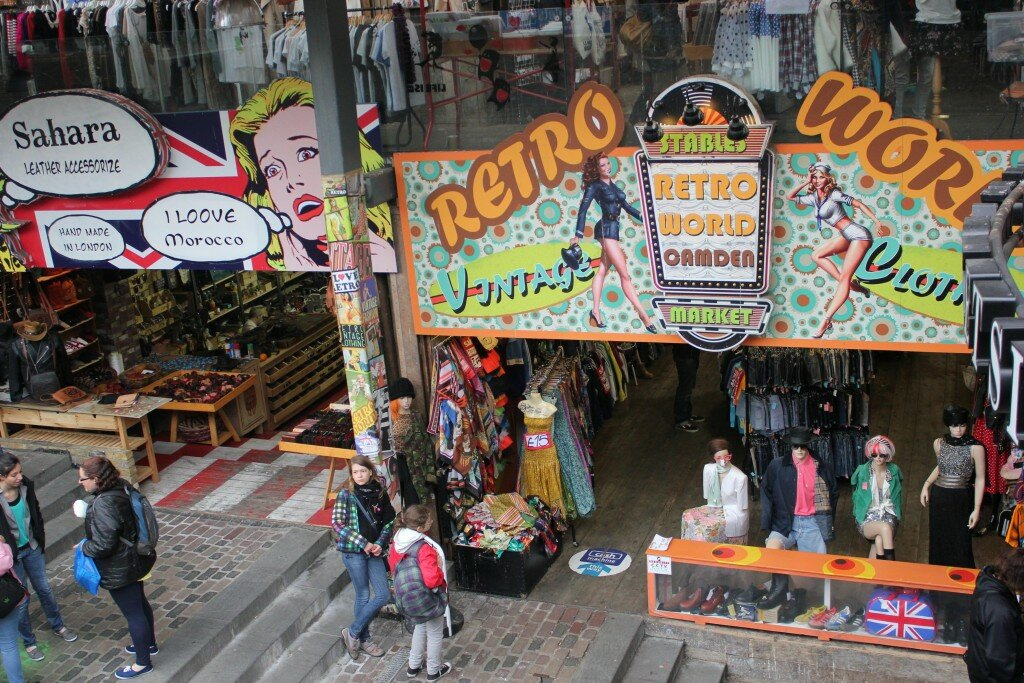 Camden Town. Foto: Gustavo Heldt, MdM