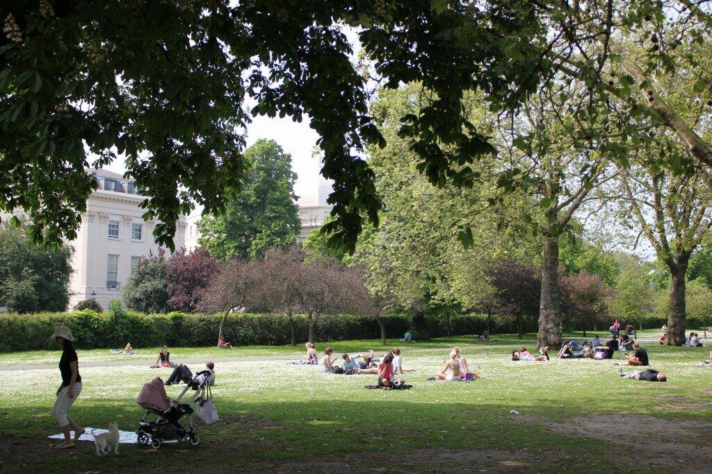 Regent's Park - Mapa de Londres