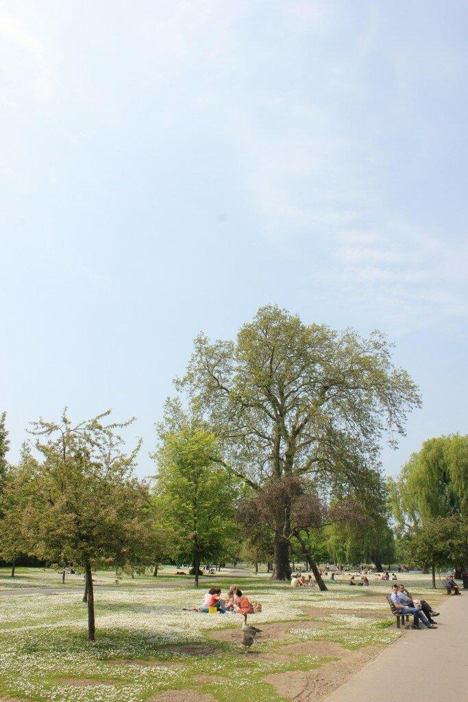 Regent's Park - Foto: Vincent Travi, Mapa de Londres
