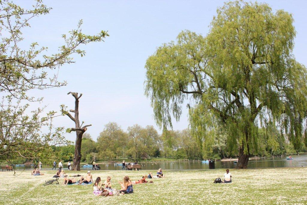 Regent's Park. Fotos: Mapa de Londres