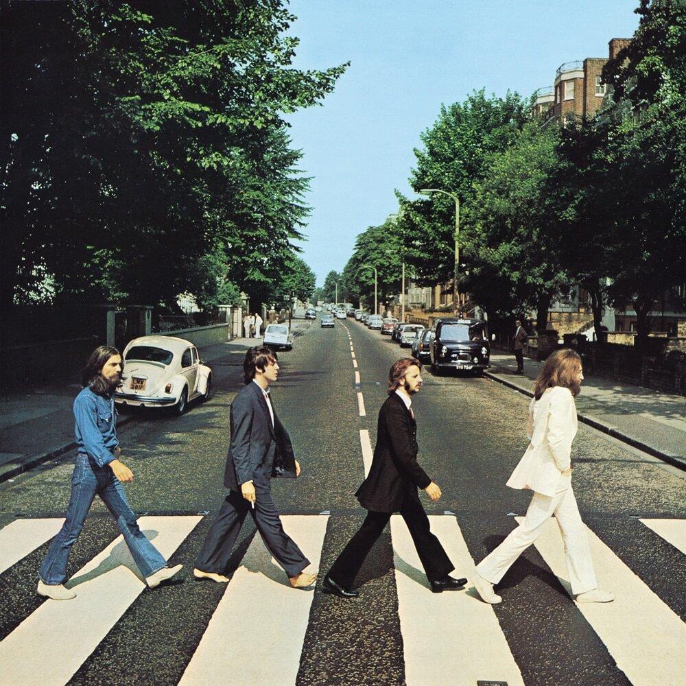 Abbey Road Beatles Album Cover