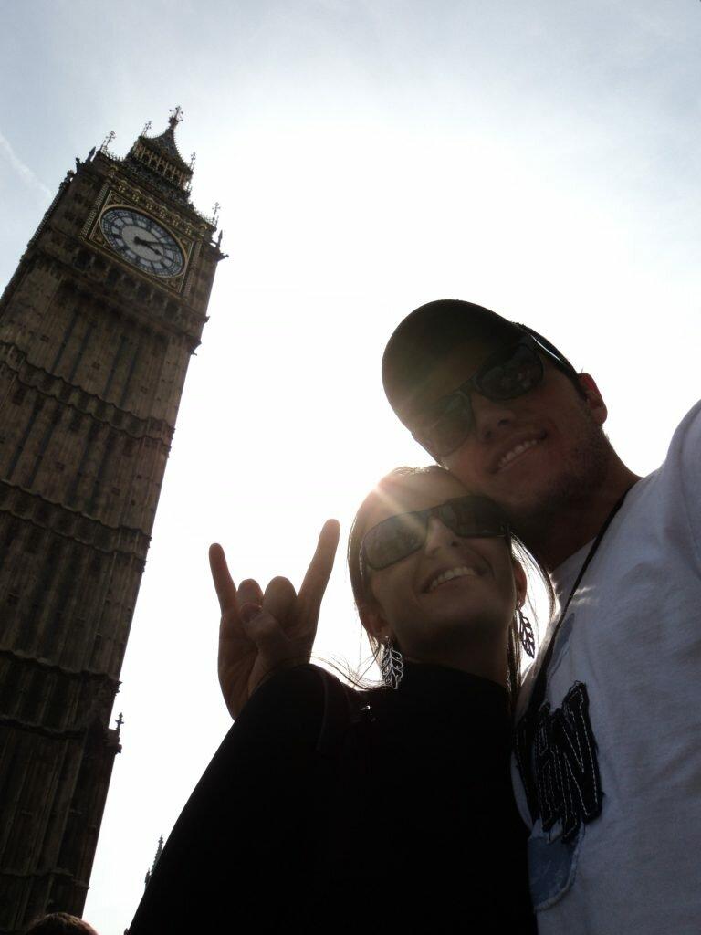 Minha Londres: João Guilherme Brotto e Natasha Schiebel
