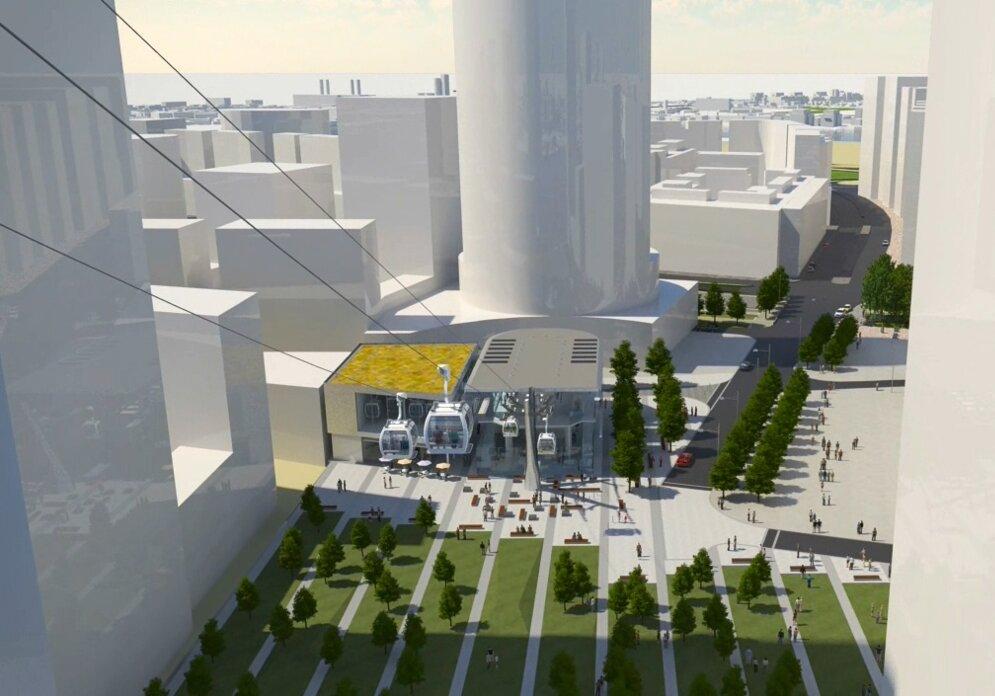 Teleférico de Londres vai custar 130 milhões de reais