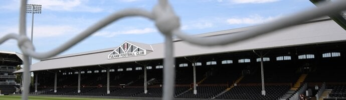 Craven Cottage - Mapa de Londres
