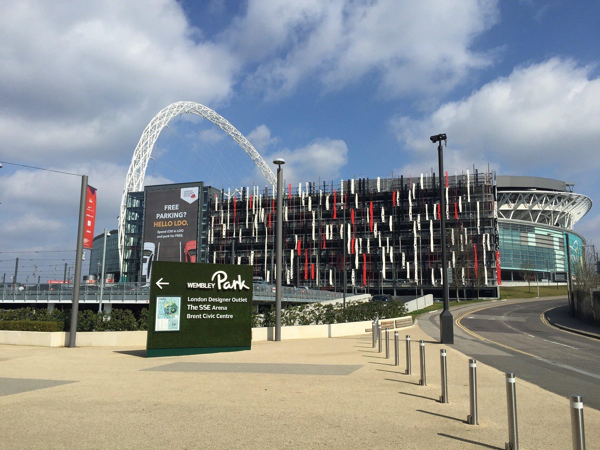 Estádios de Londres: Wembley