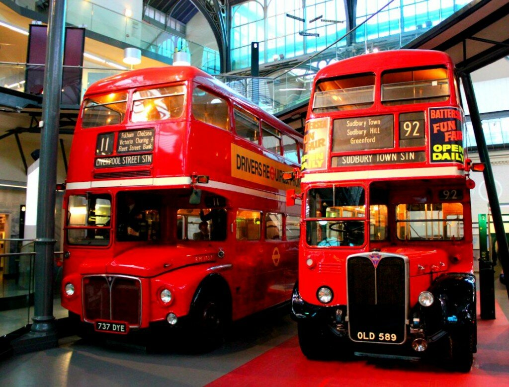 O double decker vermelho que conquistou o mundo. Foto: Mapa de Londres