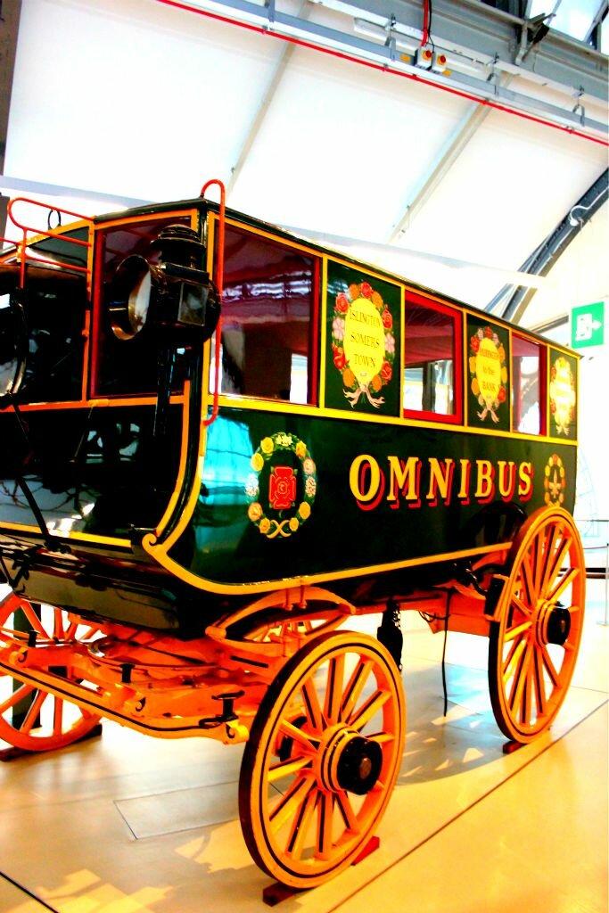 Está tudo lá no Museu do Transporte. Foto: Mapa de Londres