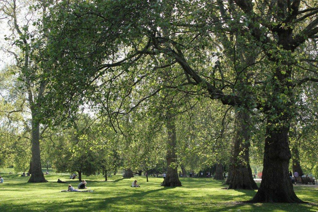 St James's Park - Mapa de Londres