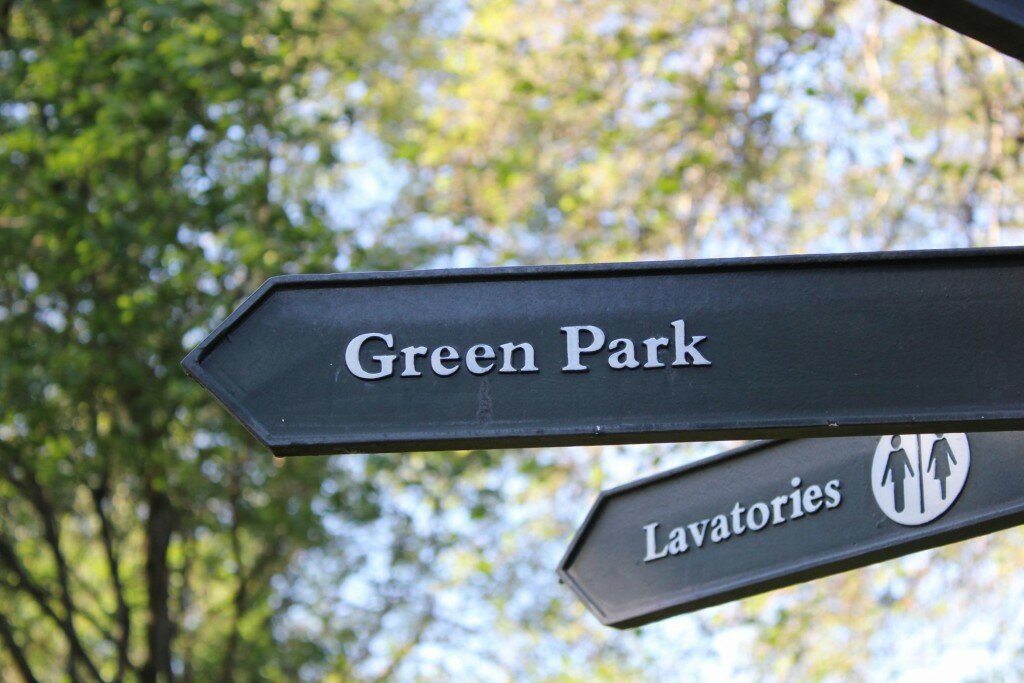 Green Park. Fotos: Mapa de Londres