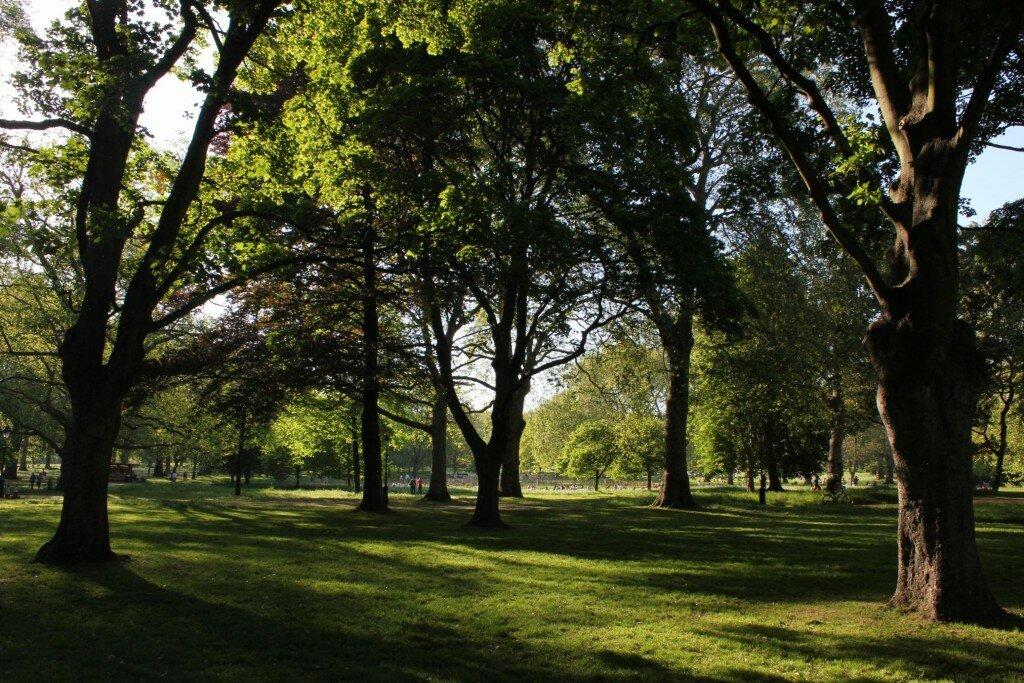 Green Park - Mapa de Londres