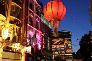 Chinatown. Foto: Mapa de Londres