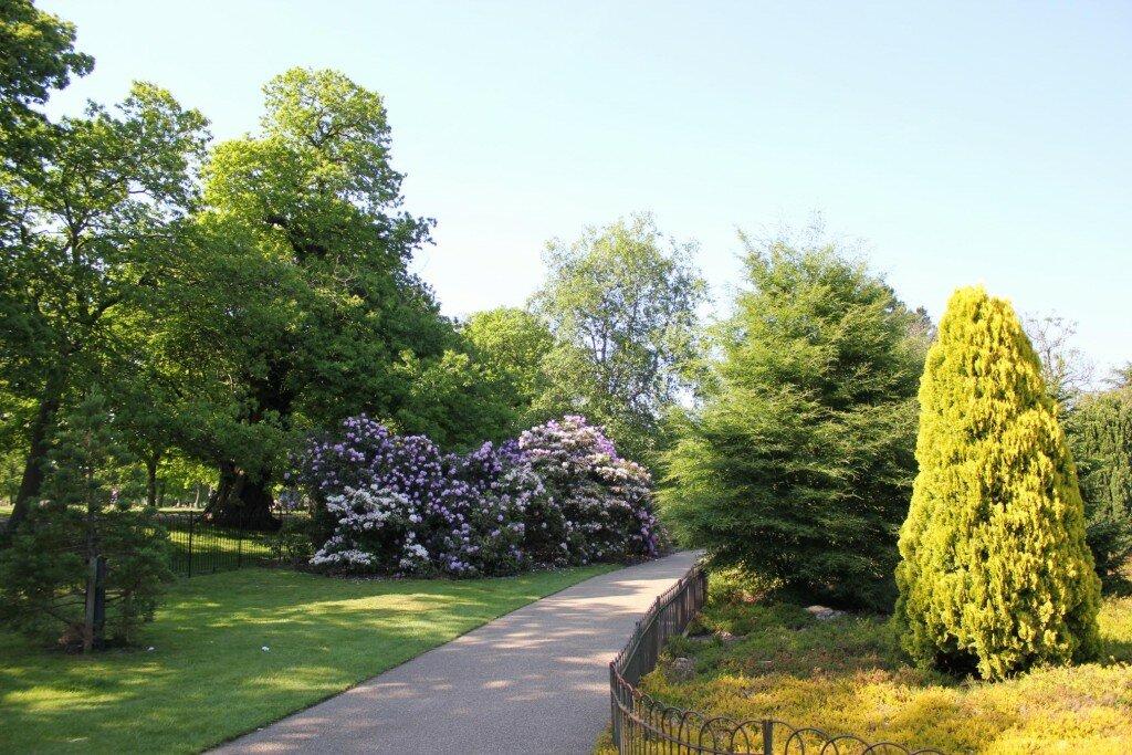 Parque de Greenwich é o mais antigo e um dos mais coloridos dos Parques Reais de Londrs