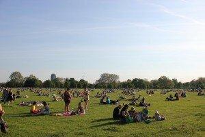 Hyde Park no verão. Foto: Mapa de Londres