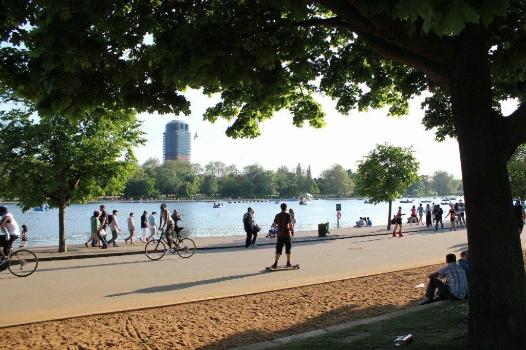 Hyde Park. Foto: Mapa de Londres